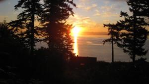 Buckhorn Sunrise ~ Orcas Island